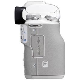 Canon EOS M50 Mirrorless Camera Body - White Thumbnail Image 5